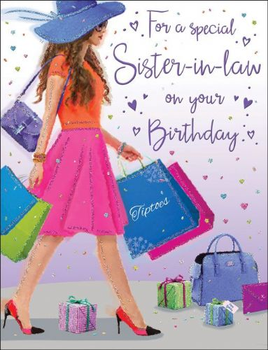 For A Special Sister-In-Law On Your Birthday